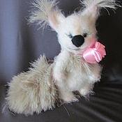 Куклы и игрушки ручной работы. Ярмарка Мастеров - ручная работа бельчонок Аленка. Handmade.