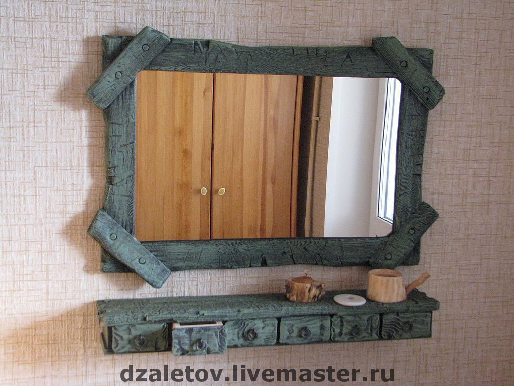 Рамку для зеркала своими руками из дерева