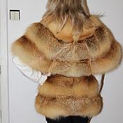 Пошив жилета из лисы своими руками 2