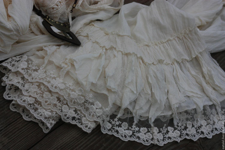 Длинные легкие юбки доставка