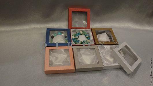 Упаковка ручной работы. Ярмарка Мастеров - ручная работа. Купить 9х9х2.5 Коробочка с окном. Handmade. Упаковка, для хранения