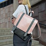 Рюкзаки ручной работы. Ярмарка Мастеров - ручная работа Кожаный женский рюкзак Alisio. Handmade.
