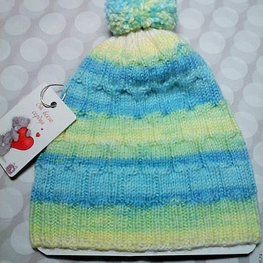 Clothing handmade. Livemaster - original item beanie for a newborn.. Handmade.