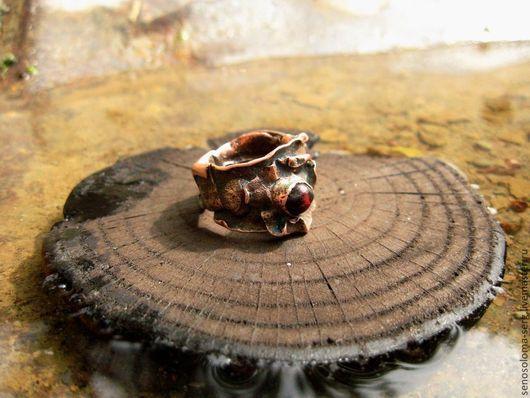 """Кольца ручной работы. Ярмарка Мастеров - ручная работа. Купить Кольцо """"De Profundis"""". Handmade. Пучина, массивное кольцо, медь"""