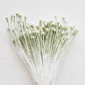 Материалы для творчества handmade. Livemaster - original item Stamens mint dusty, small. Handmade.
