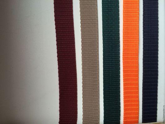 Шитье ручной работы. Ярмарка Мастеров - ручная работа. Купить лента ременная 20 мм 6 цветов. Handmade.