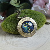 Украшения handmade. Livemaster - original item Sherlock medallion pendant Sherlock Lord of the rings. Handmade.