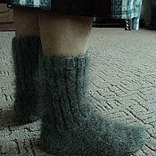 Аксессуары handmade. Livemaster - original item Socks down.. Handmade.