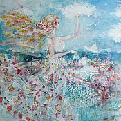 Картины и панно ручной работы. Ярмарка Мастеров - ручная работа Кусочки лета. Handmade.