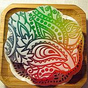 """Косметика ручной работы. Ярмарка Мастеров - ручная работа Мыло """"Витраж"""". Handmade."""