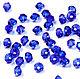 Биконусы 3мм Majestic Blue Swarovski Бусины Сваровски 20 шт, Бусины, Краснодар, Фото №1