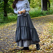 Одежда handmade. Livemaster - original item Skirt style boho