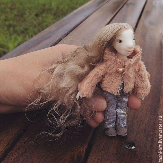 Развивающие игрушки ручной работы. Ярмарка Мастеров - ручная работа. Купить Мила (миниатюрная игровая кукла). Handmade. Миниатюра
