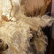 Для дома и интерьера handmade. Livemaster - original item White interior mat (panel, napkin, photophone) dvuhstorro. Handmade.