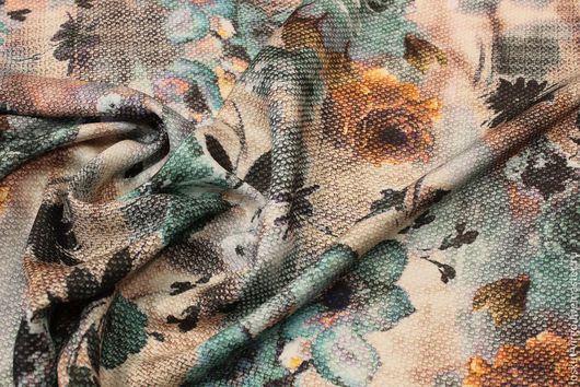 Шитье ручной работы. Ярмарка Мастеров - ручная работа. Купить Осенне-зимняя плательная вискоза, 1300руб-м. Handmade.