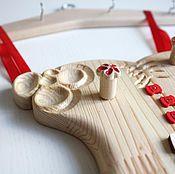 Для дома и интерьера ручной работы. Ярмарка Мастеров - ручная работа Органайзер для украшений Платьице. Handmade.