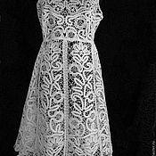 "Одежда handmade. Livemaster - original item Dress ""Frosty patterns"". Handmade."