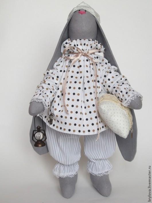 Куклы Тильды ручной работы. Ярмарка Мастеров - ручная работа. Купить СПЛЮШКИН. Handmade. Серый, сплюшкин, хлопок 100%