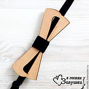 Аксессуары handmade. Livemaster - original item Men`s bow tie made of wood Smile. Handmade.