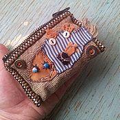 Сумки и аксессуары ручной работы. Ярмарка Мастеров - ручная работа Рыба-лыба кошелёчек, мини-сумочка или визитница, бардачный пэчворк. Handmade.