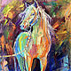 The picture with the horse 'Before the Walk' - oil on canvas, Pictures, Voronezh,  Фото №1