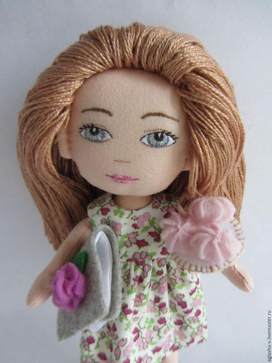 Развивающие игрушки ручной работы. Ярмарка Мастеров - ручная работа. Купить Зефир. Handmade. Розовый, одежда для кукол, мулине