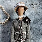 Куклы и игрушки ручной работы. Ярмарка Мастеров - ручная работа кукла тильда ручной работы ШАНЕЛЬ 2. Handmade.