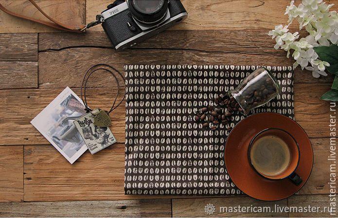 """Ткань корейский хлопок 100% """"Кофе"""" 55 х 45 см, Ткани, Краснодар,  Фото №1"""