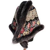 Аксессуары handmade. Livemaster - original item Pavlovo Posad shawl. Handmade.