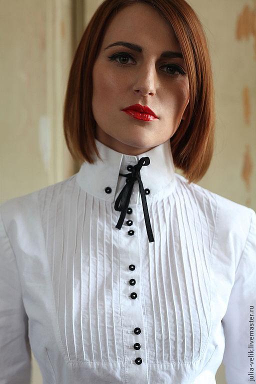 Блузка с галстуком с доставкой