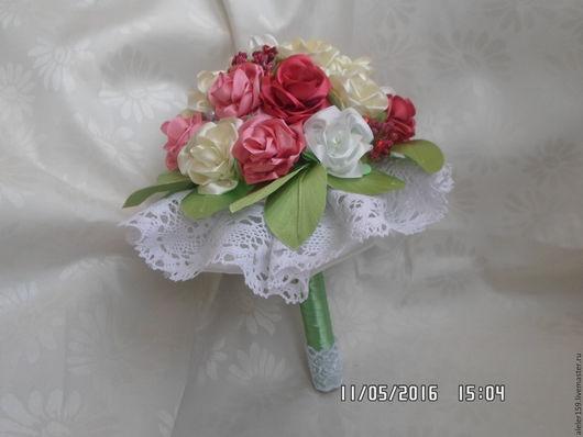Свадебные цветы ручной работы. Ярмарка Мастеров - ручная работа. Купить Свадебный букет. Handmade. Комбинированный, букет на свадьбу