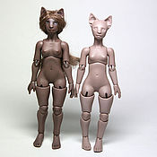 Куклы и игрушки ручной работы. Ярмарка Мастеров - ручная работа На заказ! Миниатюрная шарнирная кукла Китти (новый тираж). Handmade.
