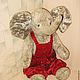 Реставрация. Реставрация . Мягкая игрушка Слон в штанишках. Студия Елены Андреевой. Интернет-магазин Ярмарка Мастеров. Реставрация, замена носа