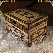 Для дома и интерьера ручной работы. Ярмарка Мастеров - ручная работа Шкатулка для драгоценностей. Handmade.