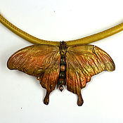 Украшения ручной работы. Ярмарка Мастеров - ручная работа Кулон Butterfly. Handmade.