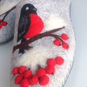 Обувь ручной работы handmade. Livemaster - original item Slippers women`s felted. Handmade.