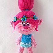 """Куклы и игрушки ручной работы. Ярмарка Мастеров - ручная работа Розочка из мультфильма """"Тролли"""". Handmade."""