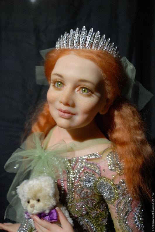 """Коллекционные куклы ручной работы. Ярмарка Мастеров - ручная работа. Купить кукла""""Оливия"""". Handmade. Кукла ручной работы, мохер"""