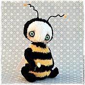 Куклы и игрушки ручной работы. Ярмарка Мастеров - ручная работа Пчела Шмель тедди. Handmade.