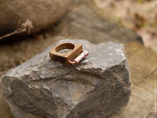 """Кольца ручной работы. Ярмарка Мастеров - ручная работа. Купить Кольцо """"Mechanism"""". Handmade. Механизм, медь"""