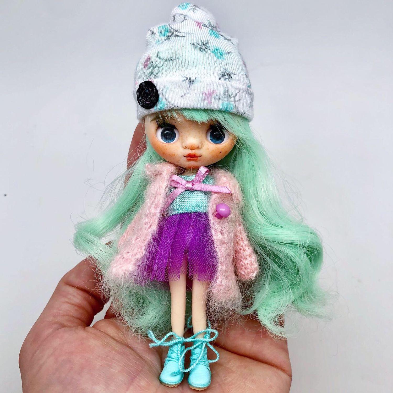 Коллекционные куклы ручной работы. Ярмарка Мастеров - ручная работа. Купить Кукла Блайз Петит. Handmade. Blythe, кастомная блайз