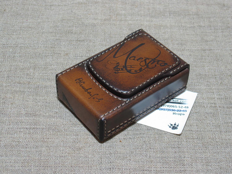 Cigarette case. sigaretta. Personalized gift, Cigarette cases, Nizhnij Tagil,  Фото №1