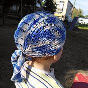 Банданы ручной работы. Ярмарка Мастеров - ручная работа Бандана для мальчика вязаная. Handmade.