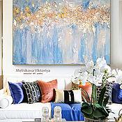 Картины и панно handmade. Livemaster - original item Textured interior painting
