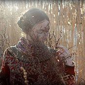 """Одежда ручной работы. Ярмарка Мастеров - ручная работа Свитер """"Гадание на травах"""". Handmade."""