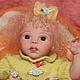 Куклы-младенцы и reborn ручной работы. Кукла реборн мини. Светлана Санникова kuklibebeshki. Ярмарка Мастеров. Винил