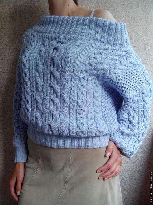 Кофты и свитера ручной работы. Ярмарка Мастеров - ручная работа. Купить Свитер в стиле Рубан из 100% вискозы. Handmade.