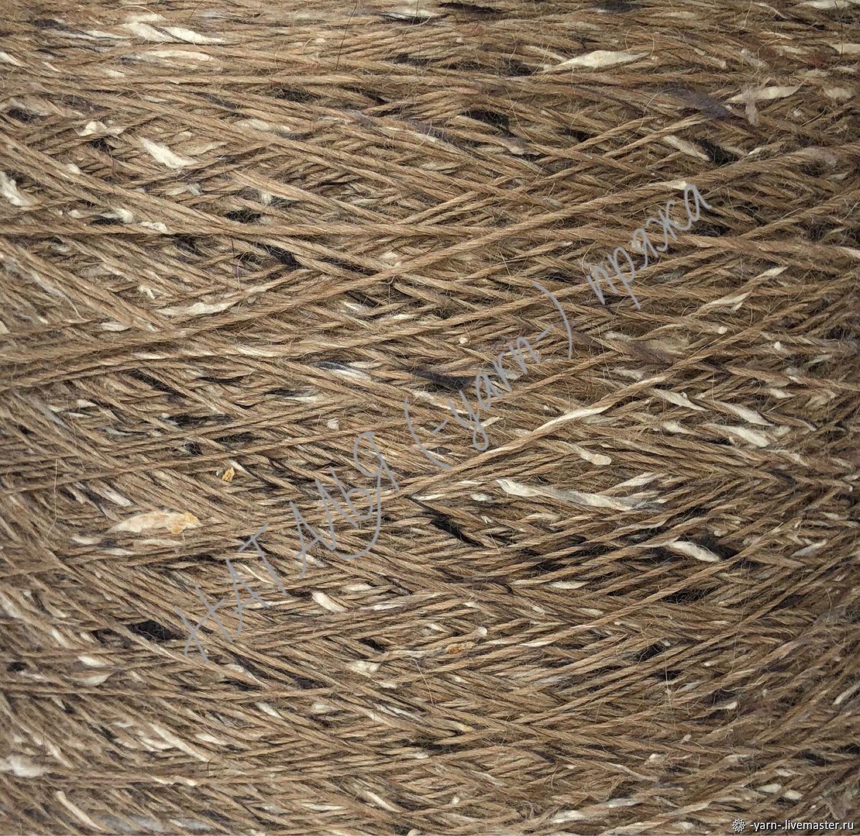 Пряжа твид альпака шелк меринос SMARTIES бежево-песочный – купить на Ярмарке Мастеров – IOM9TRU | Пряжа, Санкт-Петербург