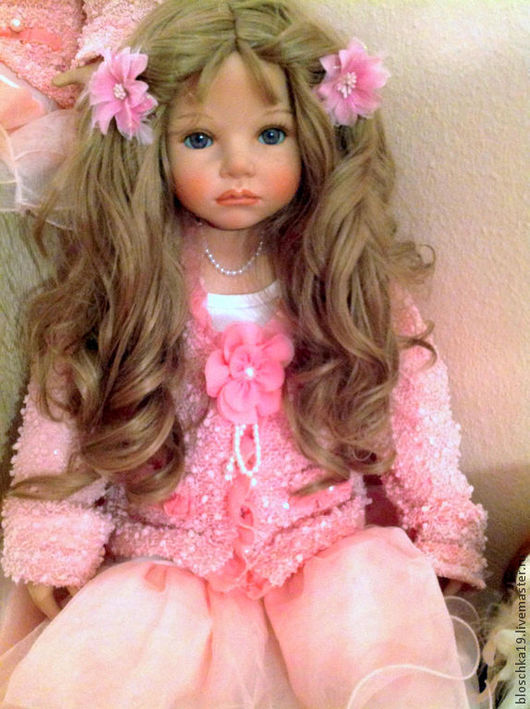 Винтажные куклы и игрушки. Ярмарка Мастеров - ручная работа. Купить Августовский сон и розовые мечты. Handmade. Кукла в подарок, фарфор