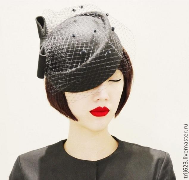 картинки шляпа с вуалью